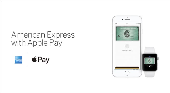 American Express with Apple Pay